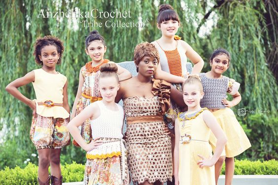 "Anzhelika Crochet Kids ""Tribe Collection"""