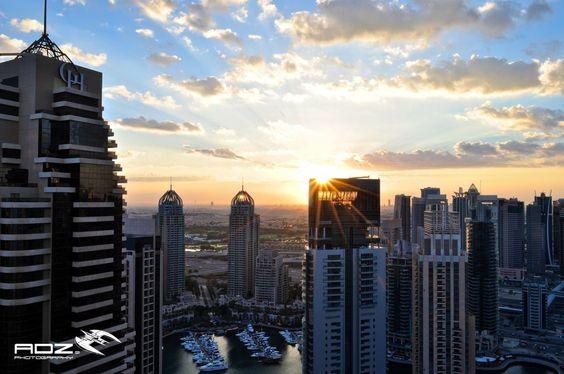 Dubai Sunrise by Sidharth Vithaldas on 500px