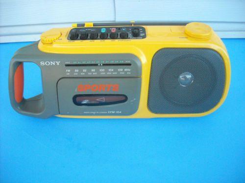 Sony Sports Cassette Radio Boombox