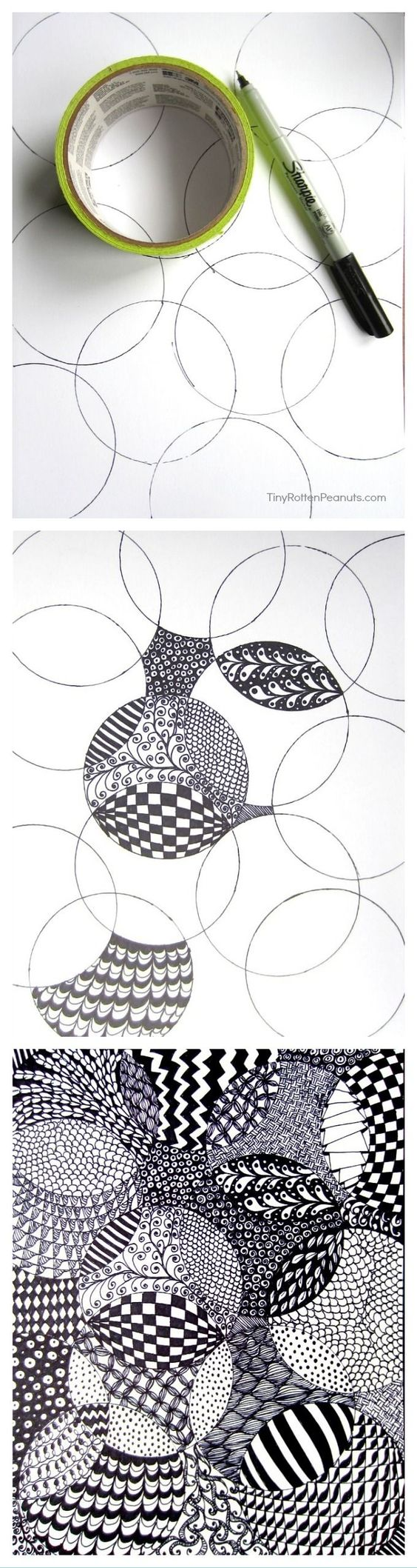 Schule kunstunterricht pinterest zentangle und kunst for Pinterest kunst
