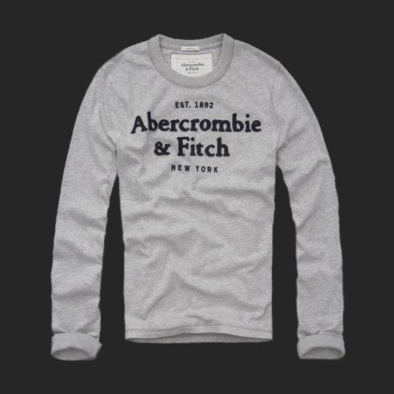 Abercrombie  Mens Long Tees,a long tees