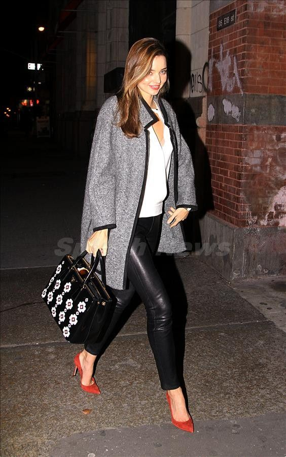 Miranda Kerr's style is perfect