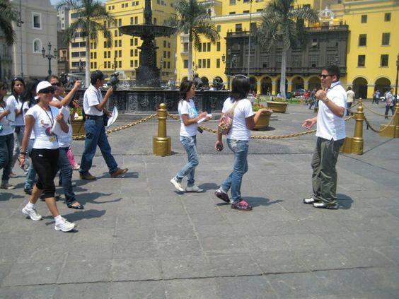 Guia turistica, Lima - Perú.
