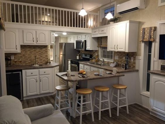 Athens Park Homes has perfected the art of making small spaces feel like palaces.