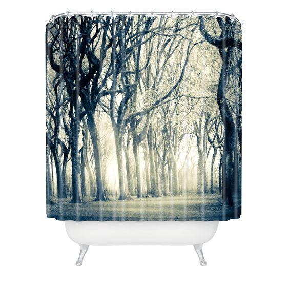Viviana Gonzalez Forest I Shower Curtain   DENY Designs Home Accessories  #DENYWISHLIST