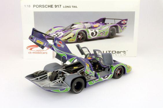 CK-Modelcars - 87075: Porsche 917 Long Tail #3 24h LeMans 1970 1:18 AUTOart, EAN 674110870756