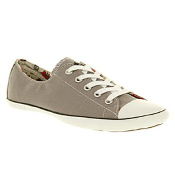Converse Ct lite ox gry/kitsch smu from Office £39.99 ~ Why do I keep being drawn to grey Converse?