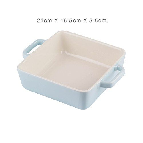 Home Baking Tray Baking Ceramics Baking Pan With Handle Oven Microwave Tableware H Home Baking Tray Bakes Baking Pans
