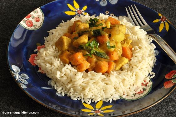 chicken curry by bill granger / hähnchen curry nach bill granger