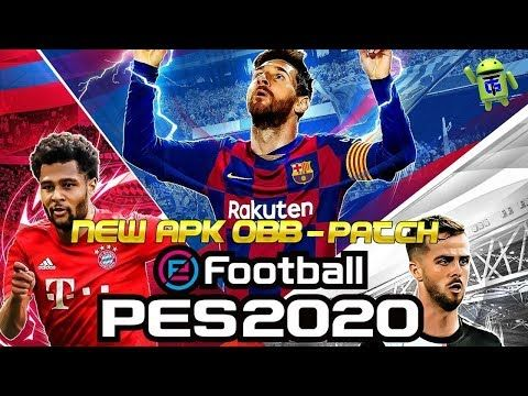 Efootball Pes 2020 Android Apk Obb V4 1 Download Evolution Soccer Pro Evolution Soccer Install Game