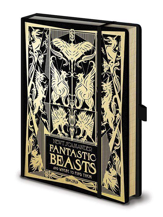 Phantastische Tierwesen 2 Premium Notizbuch A5 Fantastic Beasts Phantastische Tierwesen Phantastische Tierwesen 2 Wesen
