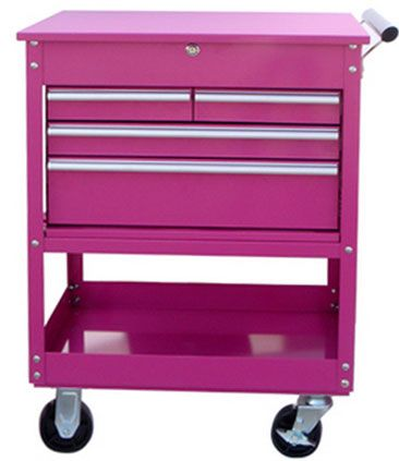 Pink TOOL BOX From The Pink Superstore - It's a tool box but also works great as a small dresser, organizer and much more! The Original Pink Box, Pink Tool Box