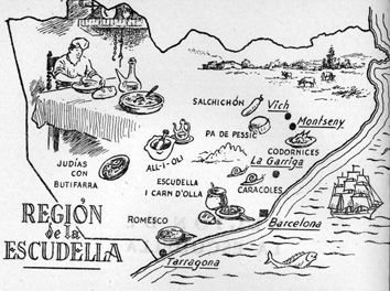 Mapa gastronómico 2