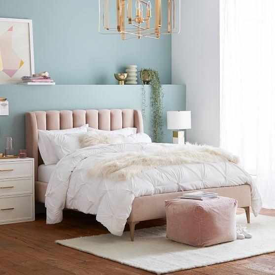 Kombinasi 2 Warna Cat Kamar Tidur Biru dan Pink 6
