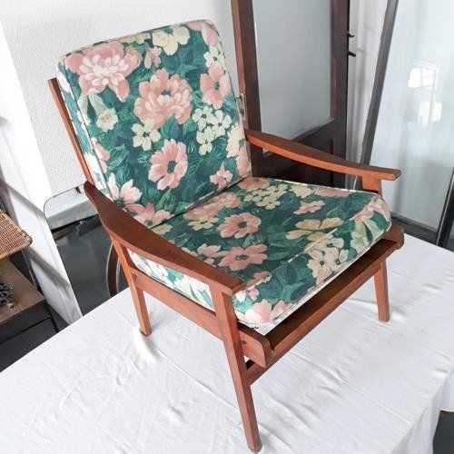 Mid Century Arm Chair Great Frame Great Design Solid Wood