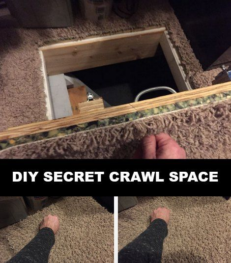 Crawl Spaces Secret Rooms And Spaces On Pinterest