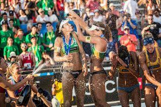 Blog Esportivo do Suíço: Larissa/Talita vence canadenses e leva ouro na Croácia