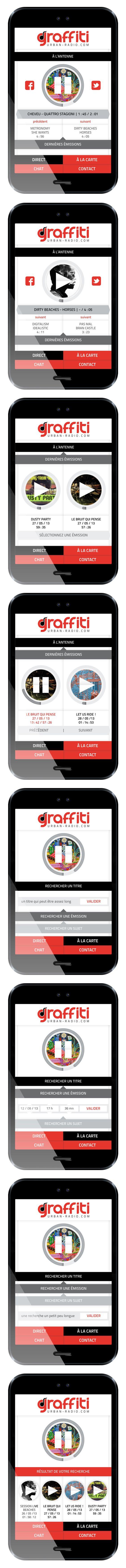 """""""Graffiti"""" (application design) by Noctulescence ©2013"""