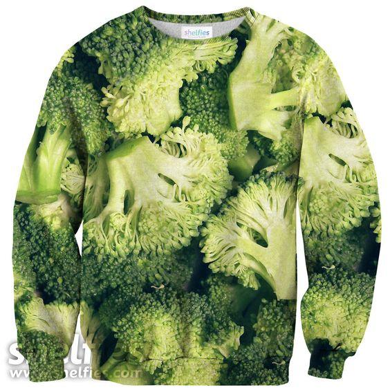 Broccoli sweater.... ehmmm... no diré más :P