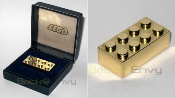 Gold Lego Is The Most Expensive Lego At $14,500