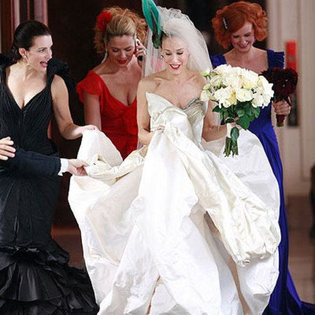 The infamous Sex & the City Wedding Dress: