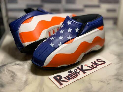"desenterrar Pensativo Bandido  DS Adidas Kobe Two ""USA Flag"" Size US 8.5 Crazy Equipment Kobe Bryant EQT 1  2 8"
