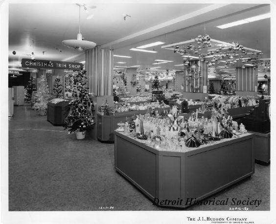 Christmas Trim Shop At The J.L. Hudson Company Department