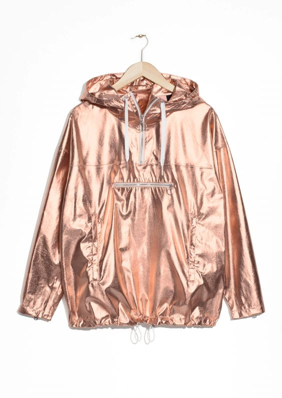 & Other Stories | Metallic Anorak
