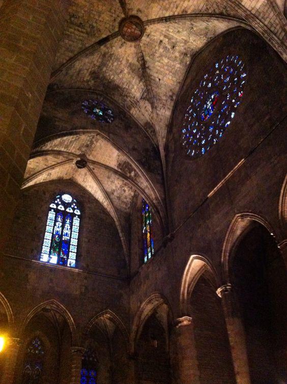 Amazing place. Santa María del Mar, Barcelona.