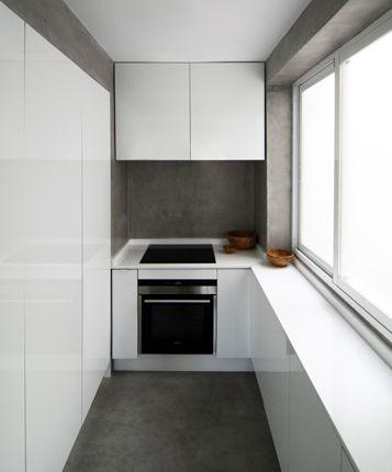 Küche in Lila #Eckküche wwwdyk360-kuechende kitchen Pinterest - küchen bei domäne