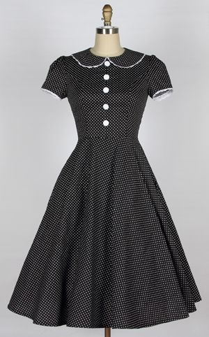 Cute polka dot dress from Pretty Things Boutique