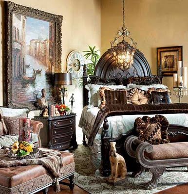 Tuscan Style High-end Luxury Bedding and Accent Pillows by Reilly-Chance Collection