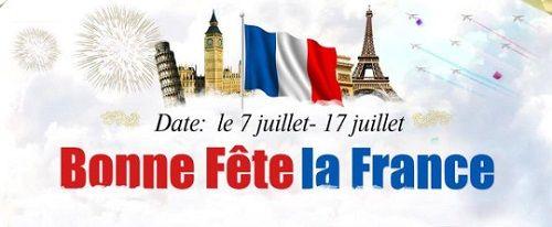 #Promotion #spéciale #Gearbest : #Fête #nationale #France