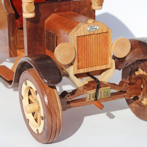 A Woodworking Plan For Building The Classic 1925 Ford Model T