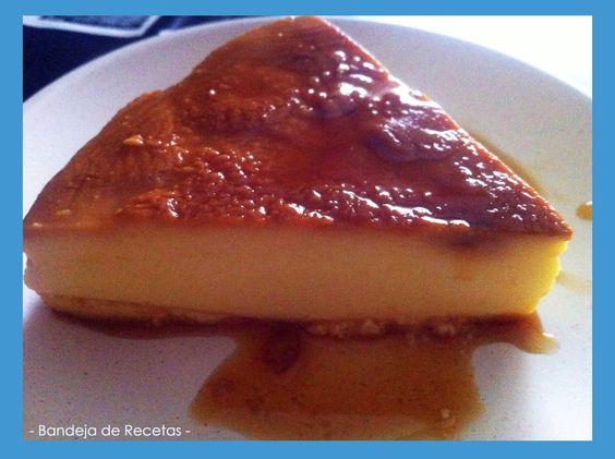 Tarta de queso al caramelo