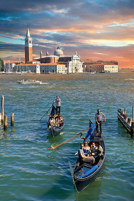 San Giorgio Maggiore, Venice, Italy.   Go to www.YourTravelVideos.com or just click on photo for home videos and much more on sites like this.