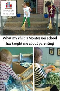 Inspiring Children, One Book at a Time: What My Child's Montessori Class Has Taught Me Abo...