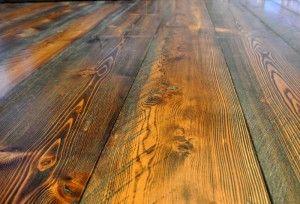pre-finished rough sawn douglas fir flooring