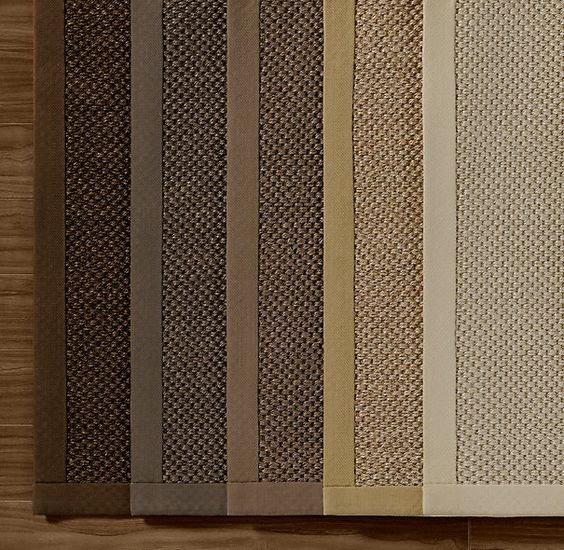 Restoration Hardware Textured Weave Sisal Rug