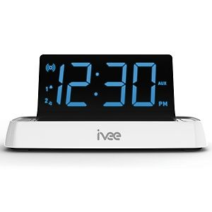IVEE Voice Activated Alarm Clock at HSN.com.--I NEED THIS!