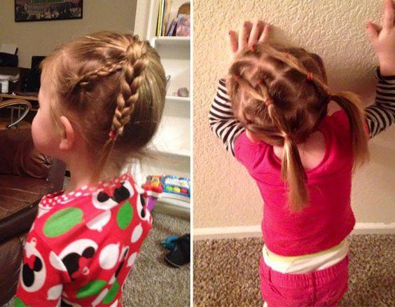 Une belle preuve d'amour père-fille : ce papa célibataire a pris des cours pour coiffer sa fille