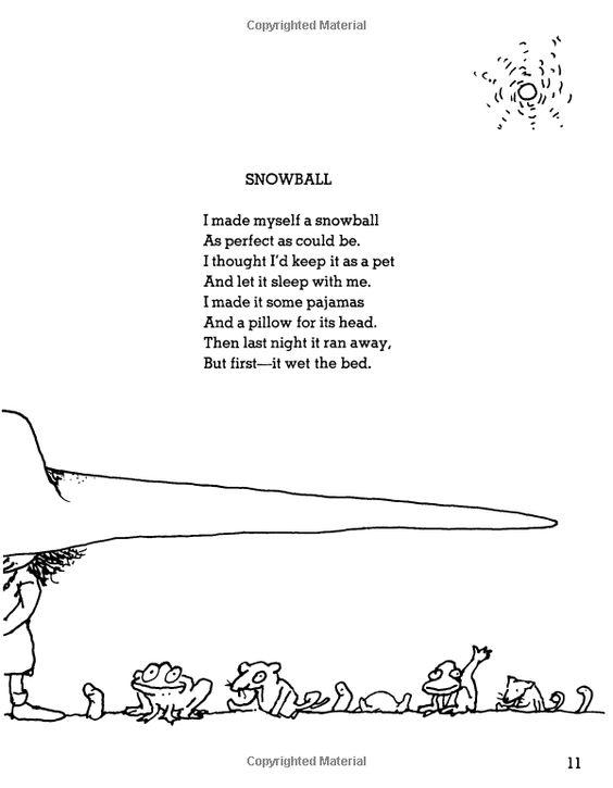 Shel Silverstein Adult Poems 119