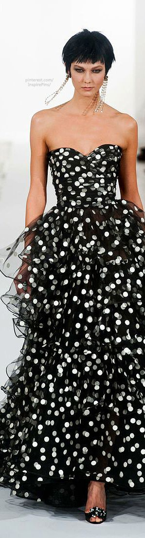 Oscar de la Renta Fall / Winter 2013: