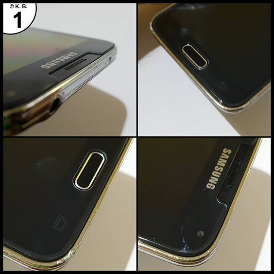 Samsung Galaxy S5 & S5 Neo Schutzglas aus gehärtetem Glas Panzerglas Schutzfolie Glasfolie Displayschutzfolie Displayschutz 9H Hartglas 0,3mm Screen Protector R