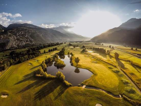 Golfplatz Leuk