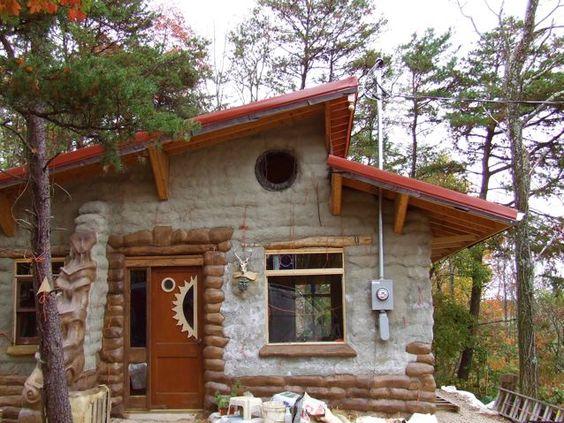 Pinterest the world s catalog of ideas for Earthbag house plans free