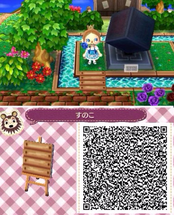 acnl bridge qr code animal crossing new leaf happy home designer pinterest ponts codes. Black Bedroom Furniture Sets. Home Design Ideas