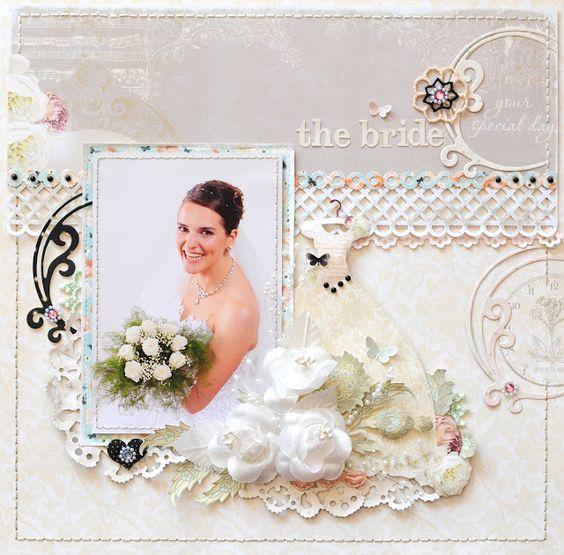 Gerry van Gent: Wedding layouts ~Webster`s Pages~ & {Creatief met Foto`s}