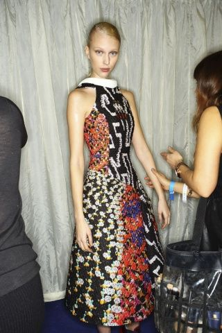 Peter Pilotto fall 2014 - behind the scenes