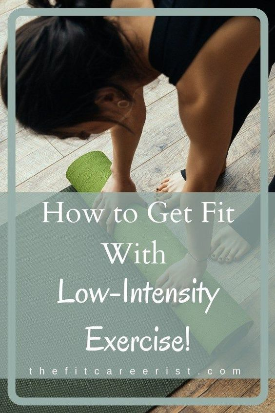 Low-Intensity Exercise for toning up - Exercise doesn't have to suck in order for you to see results! Here's the case for low-intensity workouts. #exercisetips #fitnessmotivation #fitnesstips